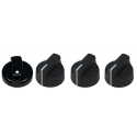 Main & Side Burner Control Knob Kit