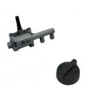 Rotary 3-Outlet Ignition & Knob Kit #BDCK0037