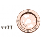 Copper Stainless Steel Control Knob Bezel #G453-0092-01C