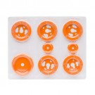 Orange Steel Bezel Kit #G453-A023-03