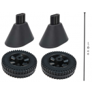 Wheel & Cart Leg End Cap Kit #MCKIT-00154
